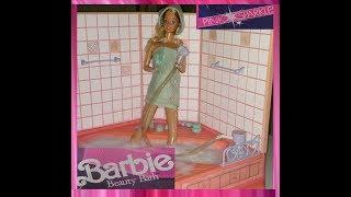 Barbie Beauty Bath Pink Sparkles Roses (1988)