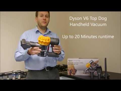 Dyson V6 Top Dog Cordless Handheld Vacuum Cleaner