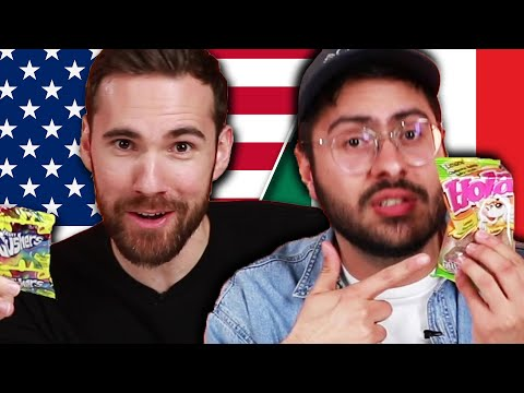 American & Mexican Snack Swap