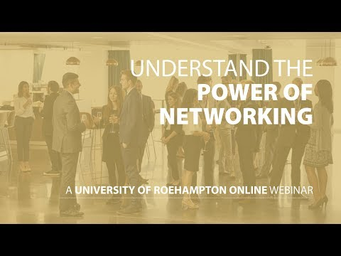 Understand the power of networking