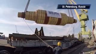 Muroran port, Japan – Vyksa, Russia, July 2016(В июле 2016 года был реализован проект по доставке опорного валка 1131 х 270 х 259 см, весом 231 580 кг, произведенного..., 2016-07-22T14:59:46.000Z)