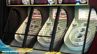 Skeeball Classic 2010 Alley Roller Arcade Game Machine - BMIGaming.com - Skeeball