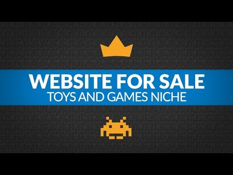 Website for Sale – $8.9K/Month in Toys & Games Niche, Amazon FBA Business