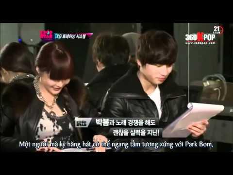 Vietsub YG Family Cut   SBS KPOP STAR {21 TEAM}