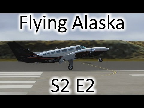 FSX | Flying Alaska S2 E2 - Hooper Bay to Gambell | Cessna F406