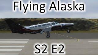 FSX | Flying Alaska S2 E2 - Hooper Bay to Gambell | Cessna F406