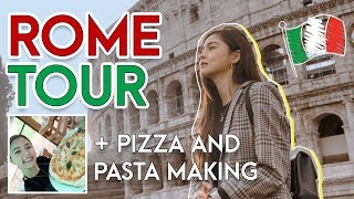 Rome Tour + Pizza & Pasta Making | Kim Chiu PH