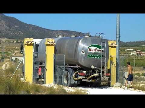 MAN water tanker arrives
