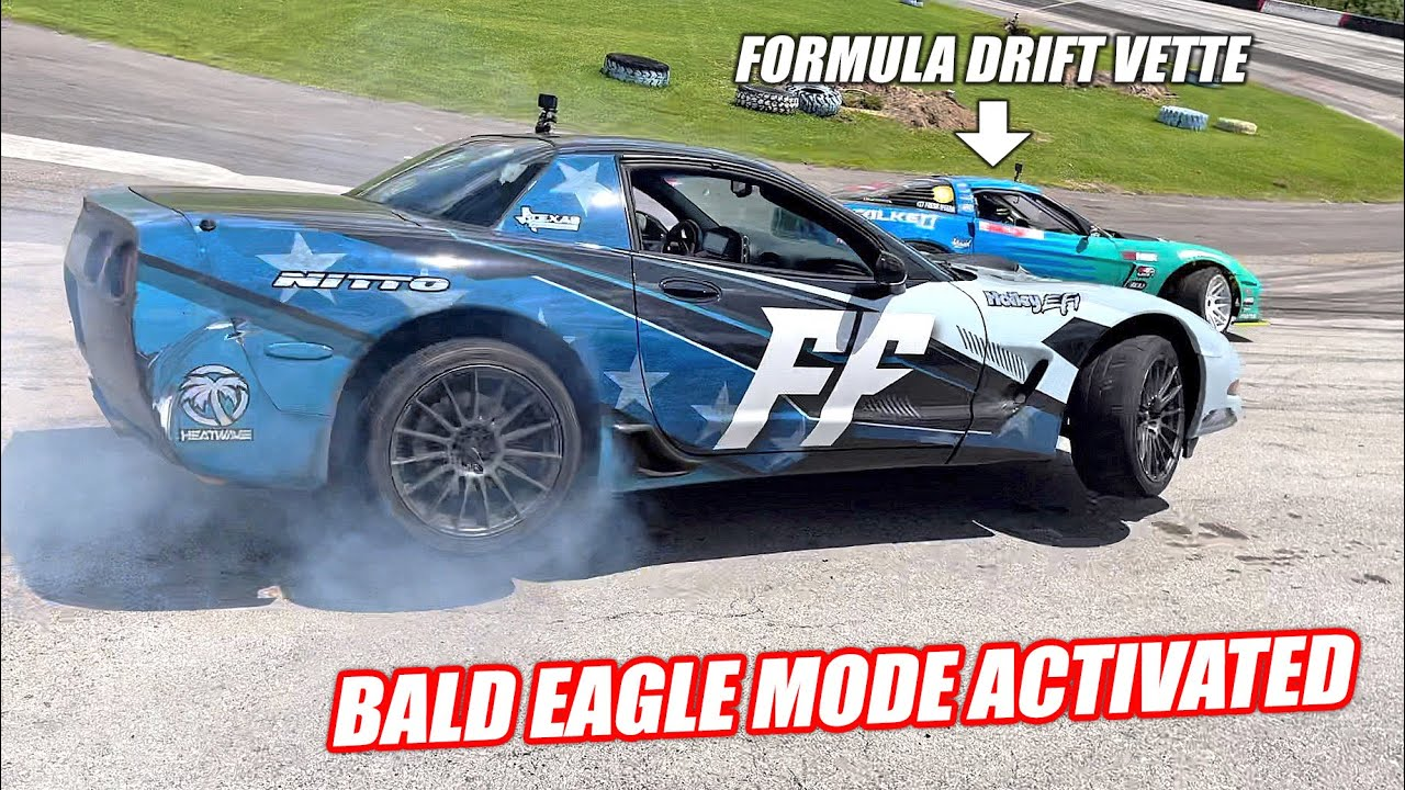 The King of Drift Corvettes Came to the Freedom Factory... So We Went FULL FREEDOM MODE!!!