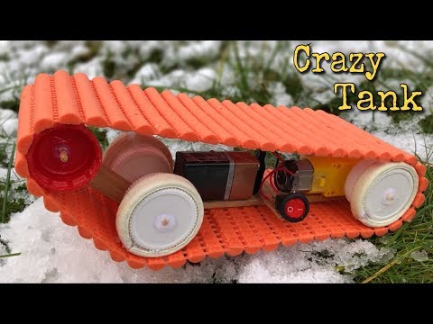 Download Youtube: How to Make a Tank (Powered Car) - Very Easy