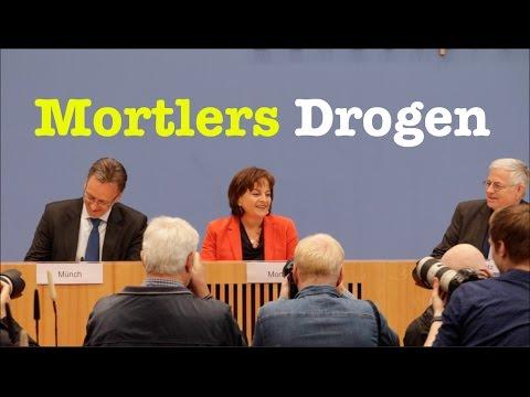 Marlene Mortler & Holger Münch (BKA) über Drogentote und Rauschgiftkriminalität - BPK 8. Mai 2017