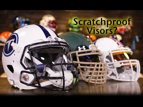 Scratchproof Football Visor?