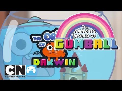 A Origem do Darwin | Jogos do Incrível Mundo de Gumball