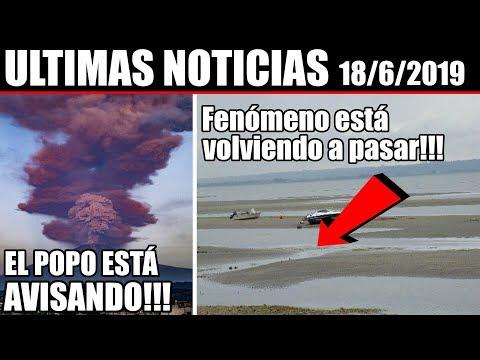 Ultimas Noticias, SISMO EN JAPÓN, VOLCÁN EN MÉXICO, METEOROS y más información 18/6/2019