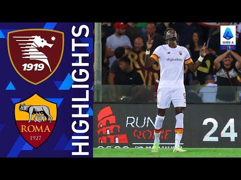 Salernitana 0-4 Roma | Abraham continua ad incantare i tifosi romanisti | Serie A TIM 2021/22
