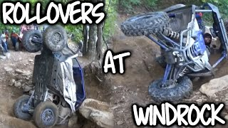 YXZ Rollovers at Windrock| T54a, T60, T12 | Day 1