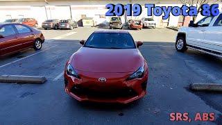 2019 Toyota 86 горит SRS и ABS C1231