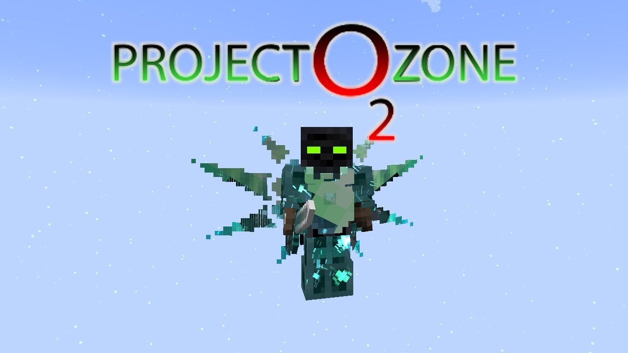 Project Ozone 2 Kappa Mode - INFINITY ARMOR [E93] (Modded Minecraft Sky  Block)