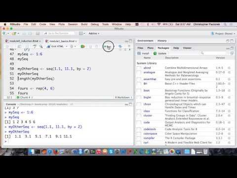 UC Berkeley R bootcamp, Module 1: Basics