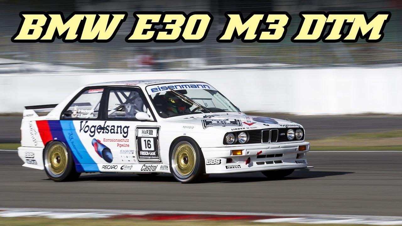 Bmw E30 M3 Dtm High Revving Racecars Nürburgring 2018 Youtube
