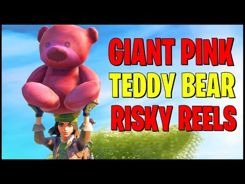 Carry A Giant Pink Teddy Bear Found In Risky Reels 100 Meters - Midas Mission Challenges Week 9