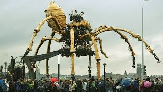 Top 10 of the Largest and Strangest Machines in the World