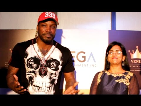 Chris Gayle Speech On Dj Bravo Champion Music...