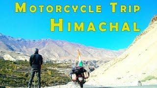 Motorcycle travel video - Chanshal, Kinnaur, Spiti, Lahaul, Pangi || 1 Person, 1 Bike, 12 days