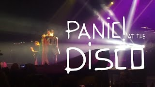 Panic! At The Disco: Death Of A Bachelor Tour 2017 Melbourne 28/1