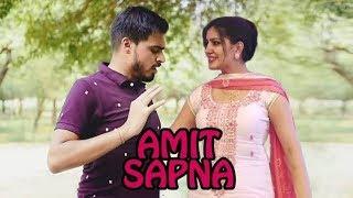 Amit bhadana and Sapna choudhary