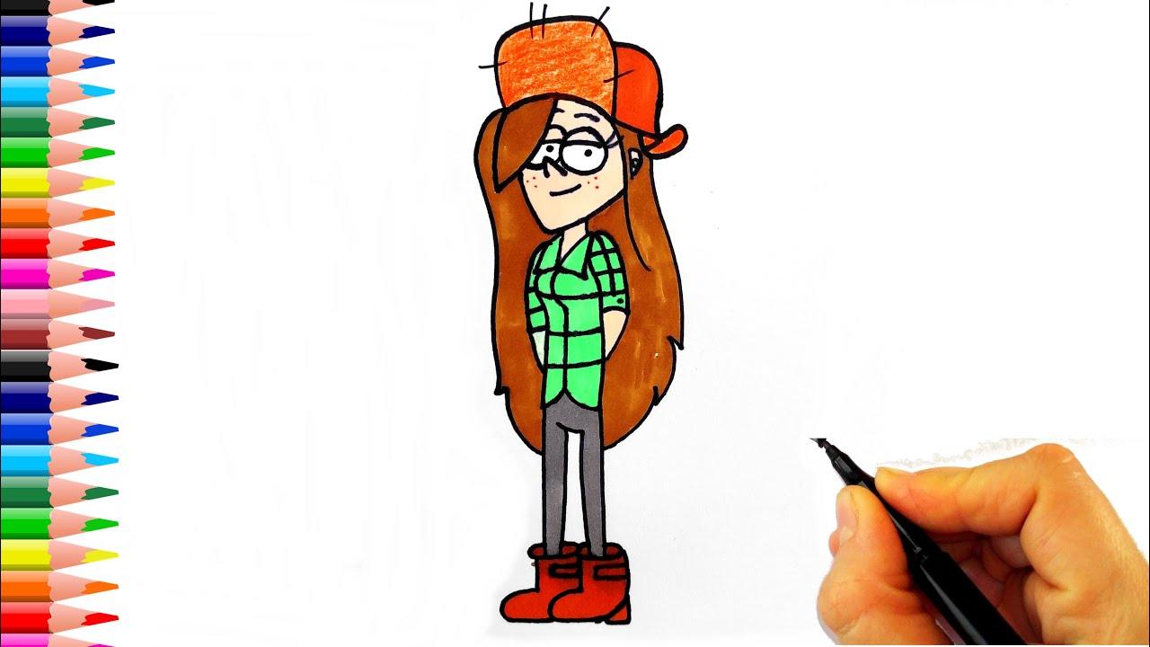 Esrarengiz Kasaba Wendy Çizimi - How To Draw Wendy
