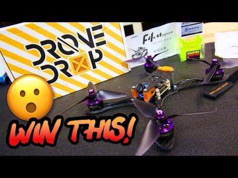 "FREE Detroit Multirotor 5"" Fpv Racer built by Justin Davis, & FREE Drop Drop Box! - Enter to Win"