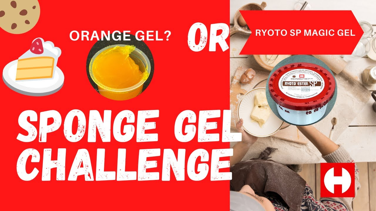 The Cake Sponge Gel Emulsifier Ultimate Challenge - YouTube
