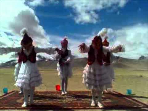Pamir Highway Responsible Tourism - Traditional Kyrgyz dancing in Rangkul, Eastern Pamir, Tajikista