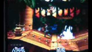 c. falcon (SeX_PANther) vs, ness (Dion_Blasters) (congo jungle)