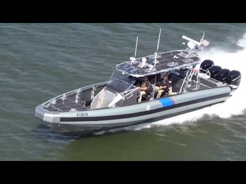 CBP Coastal Interceptor Vessel