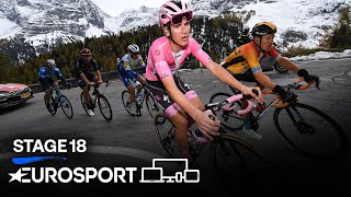 Giro d'Italia 2020 - Stage 18 Highlights | Cycling | Eurosport