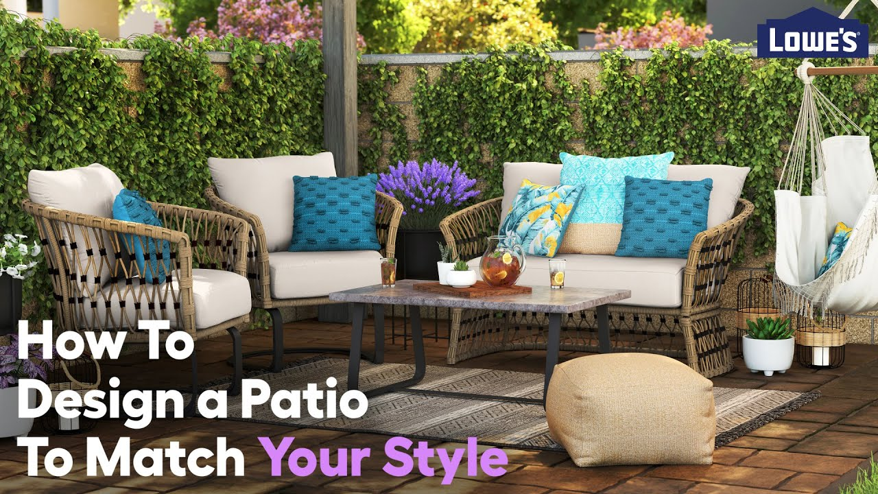 How To Design a Patio to Match Your Style