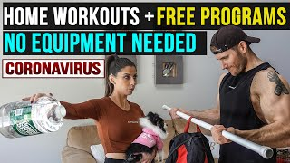 Best Home Workouts To Get You Through Coronavirus (No Equipment Required)
