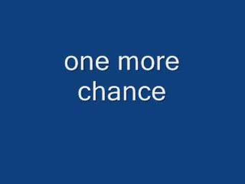 one more chance - victor wood