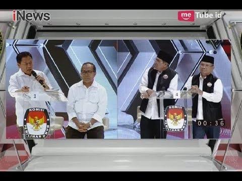 Debat Pilgub Maluku Utara, Cagub-Cawagub Saling Adu Visi Misi - INews Malam 10/05