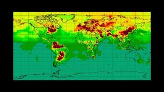 Looking at Methane Over Heat Zones, Ozone, Sulfur Dioxide (July 1, 2018)