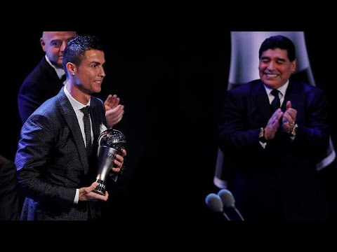 Christiano Ronaldo retains FIFA player of the year award