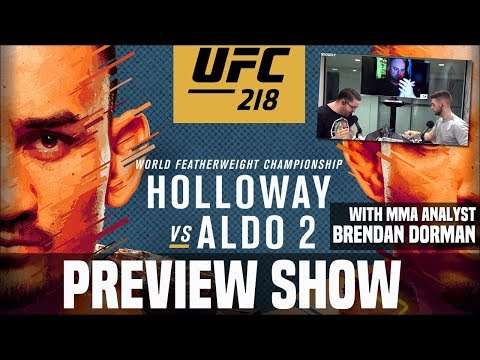 UFC 218 Preview and Predictions (with MMA Analyst Brendan Dorman)