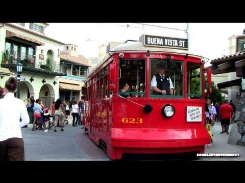 Ride through Buena Vista Street and Hollywood Land via Red Car Trolley - California Adventure