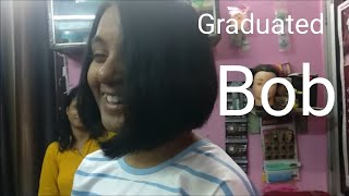 GRADUATED BOB || EASY METHOD || HAIRCUT