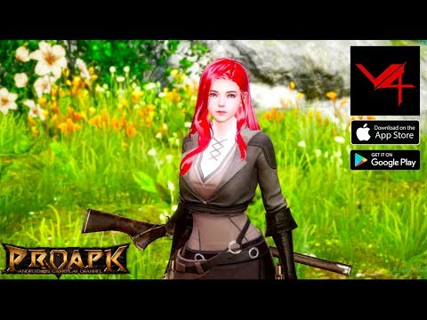V4 Gameplay Android / IOS (Open World MMORPG) (by NEXON)(KR)