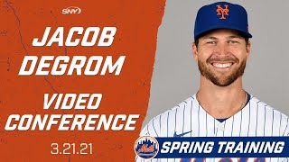 Jacob degrom speaks after his spring training start | sny