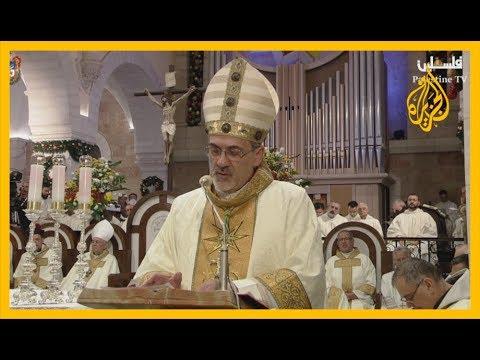 ????بيت لحم.. احتفالات بعيد الميلاد المجيد وقطعة قماش تعود لميلاد المسيح