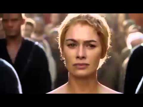 Cersei's Walk Of Atonement For Indian TV: CENSORED THRONE!